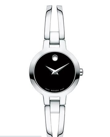 MOVADO Amorosa Stainless Steel Bangle Watch Replica Watch 0607153