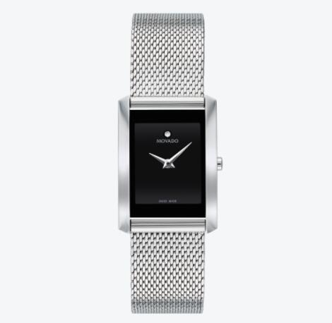 Replica Movado La Nouvelle Women Stainless Steel Watch 0607188