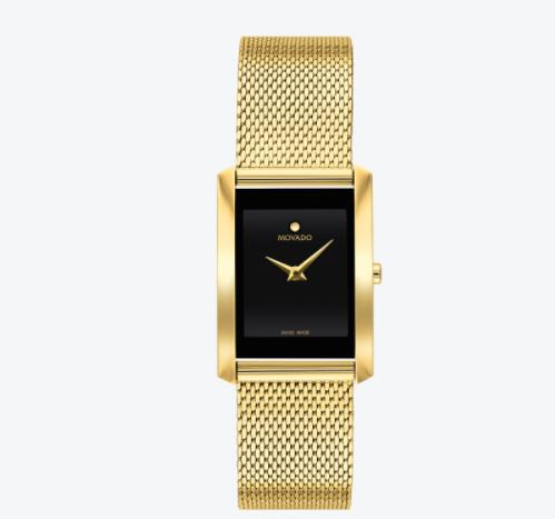 Replica Movado La Nouvelle Women Gold-toned Watch 0607189