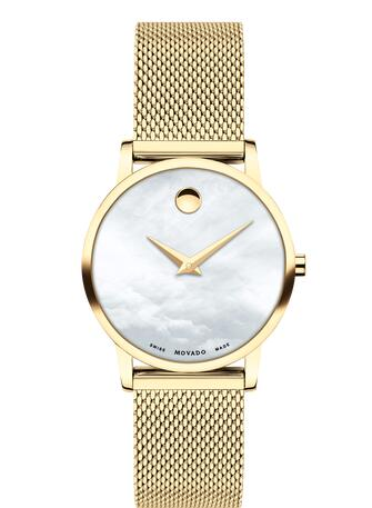 Movado Museum Classic Replica Watch 0607351 Cheap Price