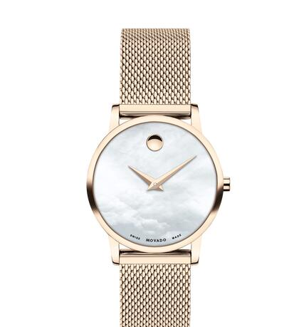 Movado Museum Classic Replica Watch 0607352 Cheap Price