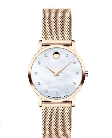 Movado Museum Classic Replica Watch 0607492 Cheap Price