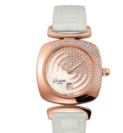 Glashutte Original Lady Pavonina Date Watch Price Replica 1-03-01-03-15-34