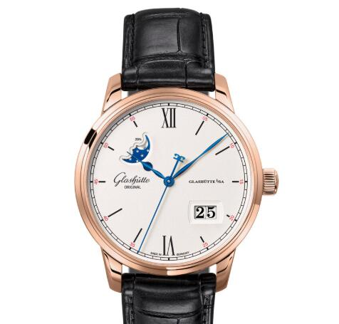 Glashuette Original Senator Excellence Panorama Date Moon Phase Replica Watch 1-36-04-02-05-30