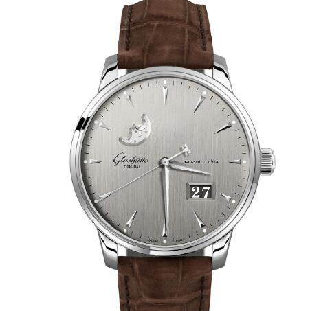Glashuette Original Senator Excellence Panorama Date Moon Phase Replica Watch 1-36-04-03-02-02