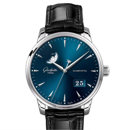 Glashuette Original Senator Excellence Panorama Date Moon Phase Replica Watch 1-36-04-04-02-01
