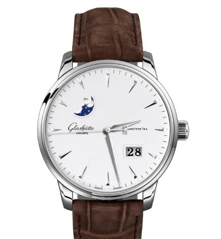 Glashuette Original Senator Excellence Panorama Date Moon Phase Replica Watch 1-36-04-05-02-02