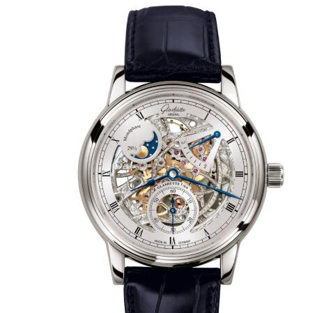 Glashuette Original Senator Moon Phase Skeletonized Edition Replica Watch 1-49-13-15-04-30