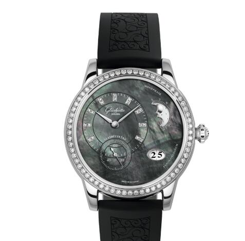 Glashutte Original Lady Watch Price PanoMatic Luna Replica 1-90-12-02-12-04