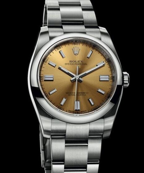 Rolex Oyster Perpetual Watches Oyster Perpetual 116000 - 70200 Steel - White Grape Dial