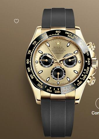Rolex Oyster Perpetual Watches Cosmograph Daytona 116518LN Yellow gold - Oysterflex bracelet type