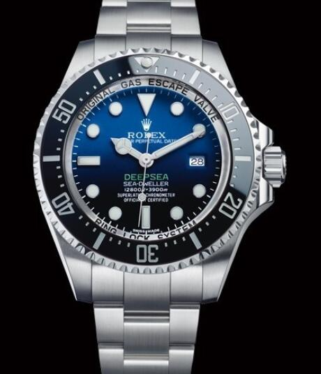 Rolex Oyster Perpetual Watches Deepsea 116660 Steel - D-Blue Dial