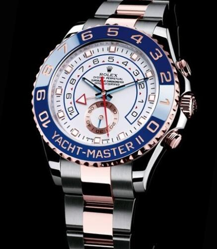 Rolex Watch Oyster Perpetual Yacht-Master II 116681-78211 Rolesor Everose