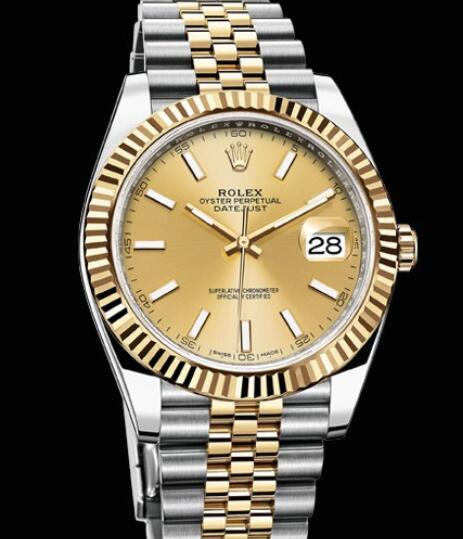 Rolex Oyster Perpetual Watches Datejust 41 126333 - 62613 Yellow Rolesor - Yellow Rolesor Bracelet
