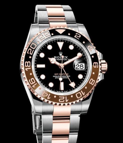 Rolex Oyster Perpetual Watches GMT-Master II 126711 CHNR - 79201 Oystersteel and Everose Gold - Brown and Black Cerachrom Bezel