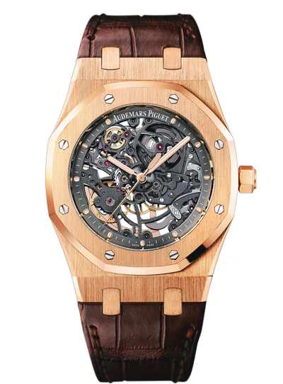 Replica Audemars Piguet ROYAL OAK Watch ROYAL OAK OPENWORKED EXTRA-THIN 15305OR.OO.D088CR.01