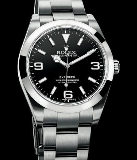 Rolex Watch Replica Oyster Perpetual Explorer 214270 / 77200 Steel
