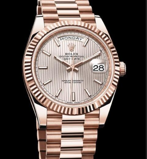 Rolex Oyster Perpetual Watches Day-Date 40 228235 - 83415 Everose gold