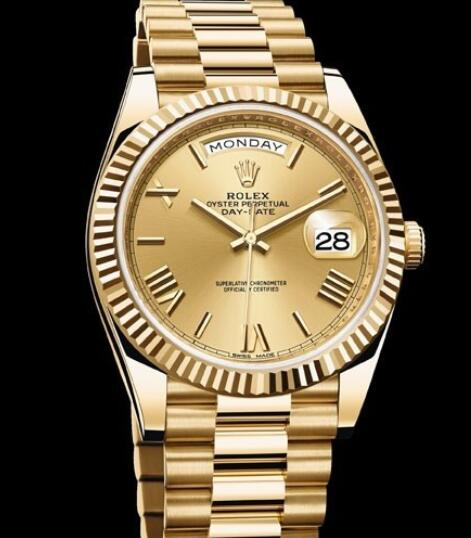 Rolex Oyster Perpetual Watches Day-Date 40 228238 - 83418 Yellow gold