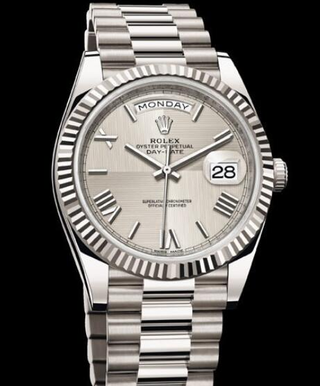 Rolex Oyster Perpetual Watches Day-Date 40 228239 - 83419 White gold
