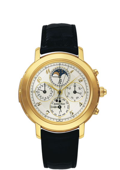 Replica Audemars Piguet Jules Audemars Watch GRANDE COMPLICATION 25866BA.OO.D002CR.02