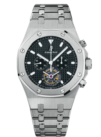 Replica Audemars Piguet ROYAL OAK Watch ROYAL OAk TOURBILLON CHRONOGRAPH 25977ST.OO.1205ST.02