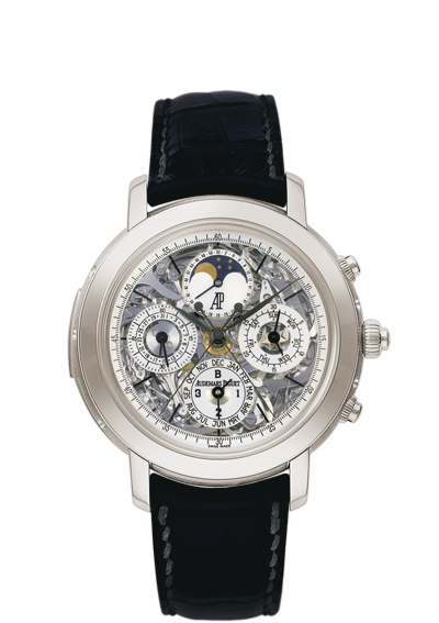 Replica Audemars Piguet Jules Audemars Watch GRANDE COMPLICATION 25996TI.OO.D002CR.01