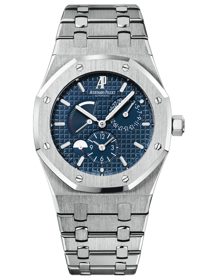 Replica Audemars Piguet ROYAL OAK Watch ROYAL OAk DUAL TIME 26120ST.OO.1220ST.02