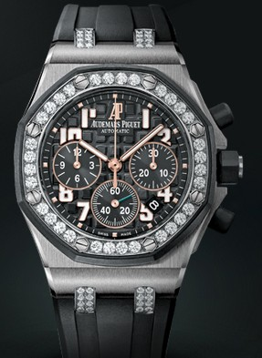 Replica Audemars Piguet 2013 Novelties Watch ROYAL OAK OFFSHORE LADYCAT CHRONOGRAPH 26211SK.ZZ.D002CA.01