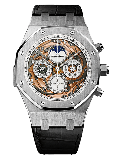 Replica Audemars Piguet ROYAL OAK Watch ROYAL OAk OPENWORKED GRANDE COMPLICATION 26552BC.OO.D002CR.01