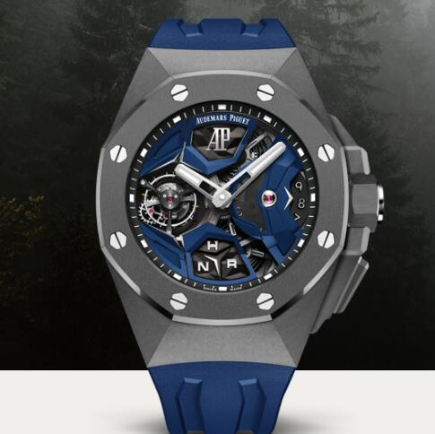 Audemars Piguet ROYAL OAK CONCEPT FLYING TOURBILLON GMT Watch Replica 26589IO.OO.D030CA.01