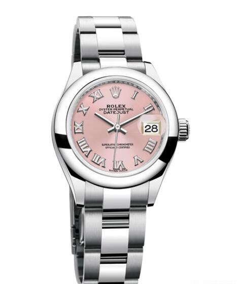 Replica Rolex Watch Women Oyster Perpetual Lady-DateJust 28 279160 Steel