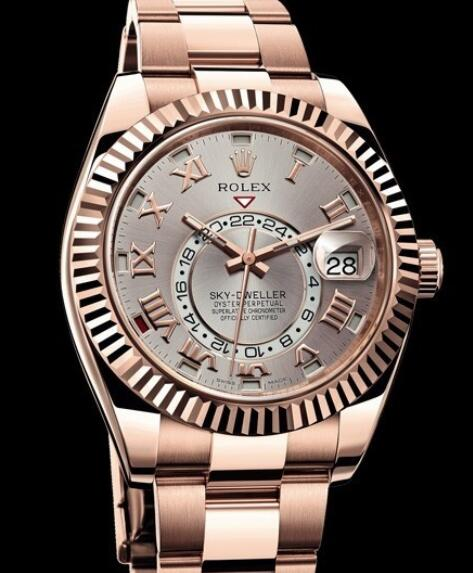 Rolex Oyster Perpetual Watches Sky-Dweller 326935A Everose gold