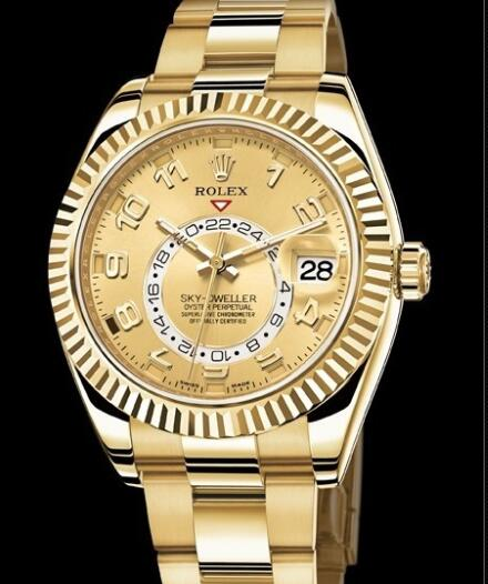 Rolex Watch Oyster Perpetual Sky-Dweller 326938-72418 Yellow gold