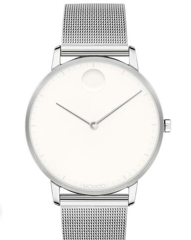 Movado Face Stainless Steel Mesh Watch 3640006 Replica Watch Cheap Price