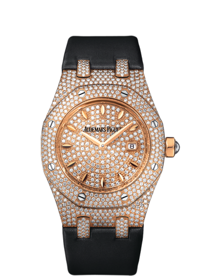 Replica Audemars Piguet LADIES COLLECTION ROYAL OAK OFFSHORE Watch QUARTZ 67625OR.ZZ.D009SU.01