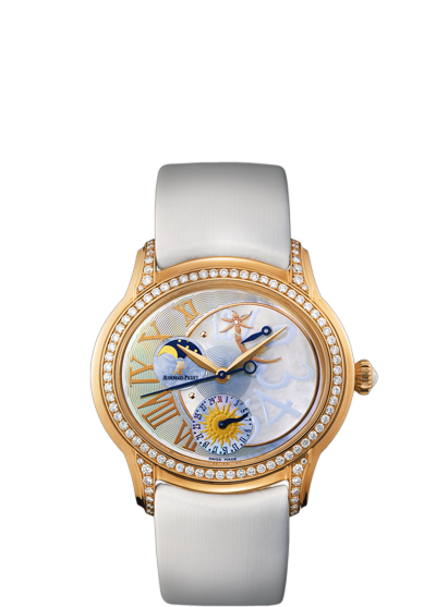 Replica Audemars Piguet Ladies Royal MILLENARY Collection Watch STARLIT SKY 77315OR.ZZ.D013SU.01