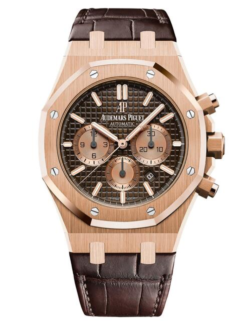 Buy Luxury Replica Audemars Piguet Royal Oak Chronograph 26331OR.OO.D821CR.01 watch