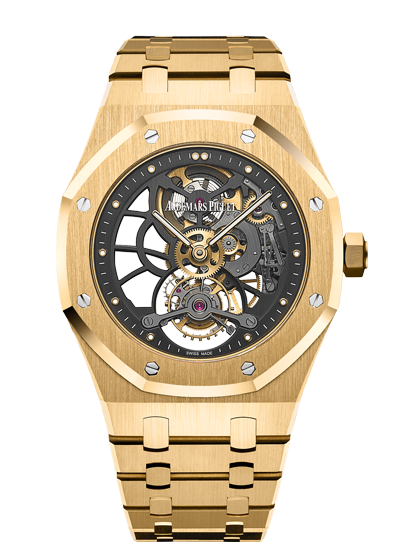 2018 Replica Audemars Piguet ROYAL OAK TOURBILLON EXTRA-THIN OPENWORKED watch 26513BA.OO.1220BA.01