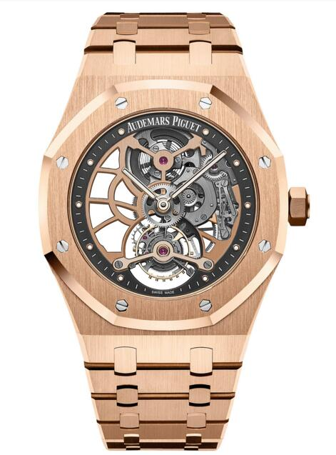 Replica Audemars Piguet Royal Oak Tourbillon Extra-Thin Openworked 26518OR.OO.1220OR.01 watch