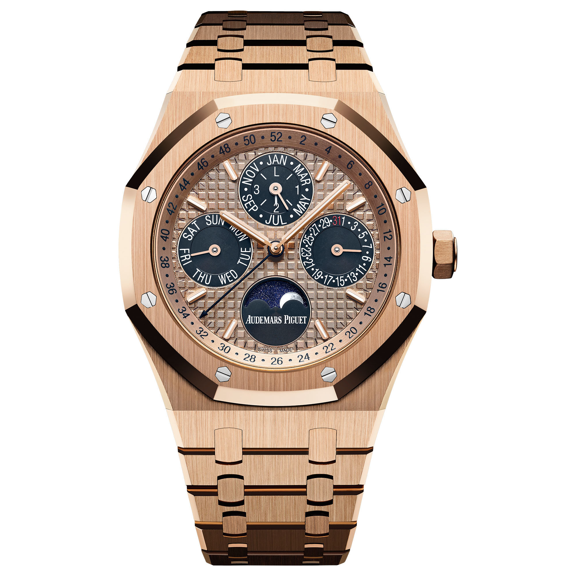 Buy Luxury Replica Audemars Piguet Royal Oak Perpetual Calendar 26584OR.OO.1220OR.01 watch