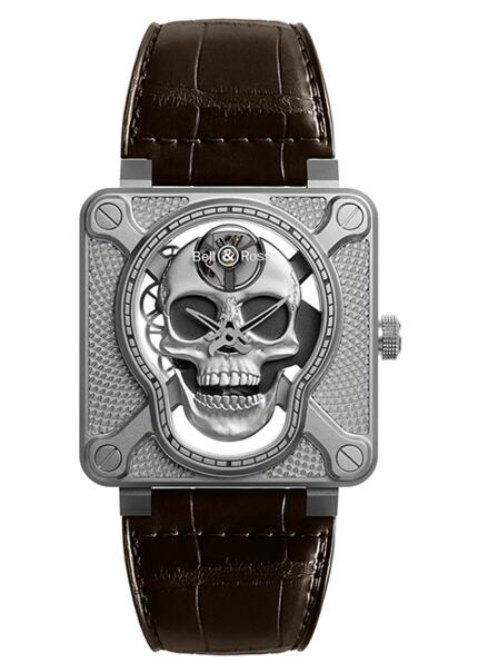 BELL & ROSS BR 01 Laughing Skull BR01-SKULL-SK-ST replica watch review