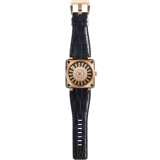 Cheap BELL & ROSS Replica BR 01 CASINO PINK GOLD BR01OW Watch
