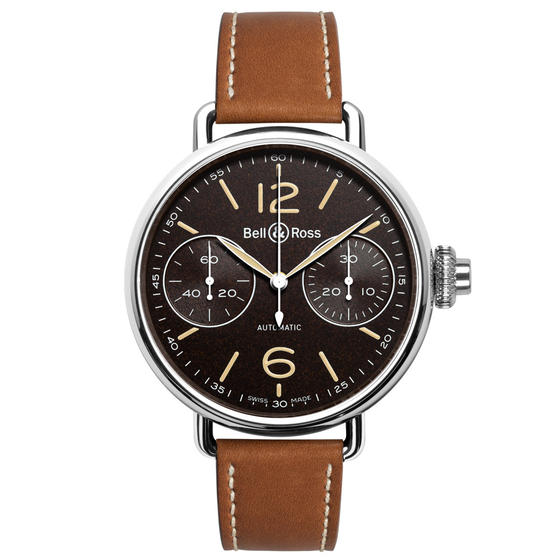 Cheap BELL & ROSS Watch Replica WW1 CHRONOGRAPHE MONOPOUSSOIR HERITAGE BRWW1-MONO-HER Watch