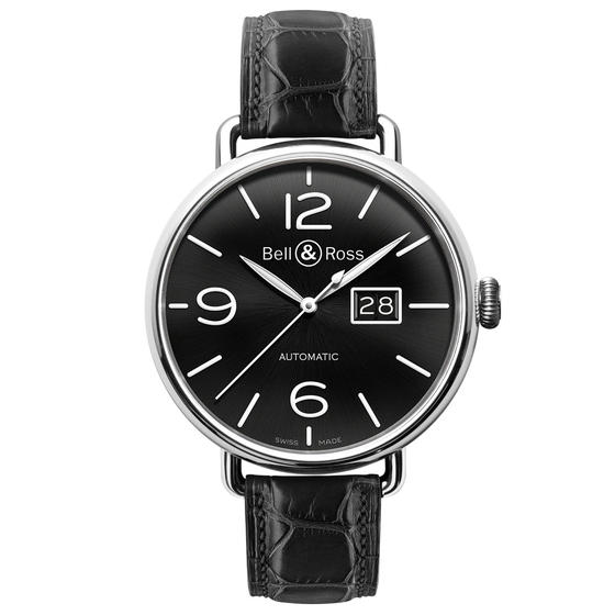 Cheap BELL & ROSS Watch Replica WW1-96 GRANDE DATE BRWW196-BL-ST Watch