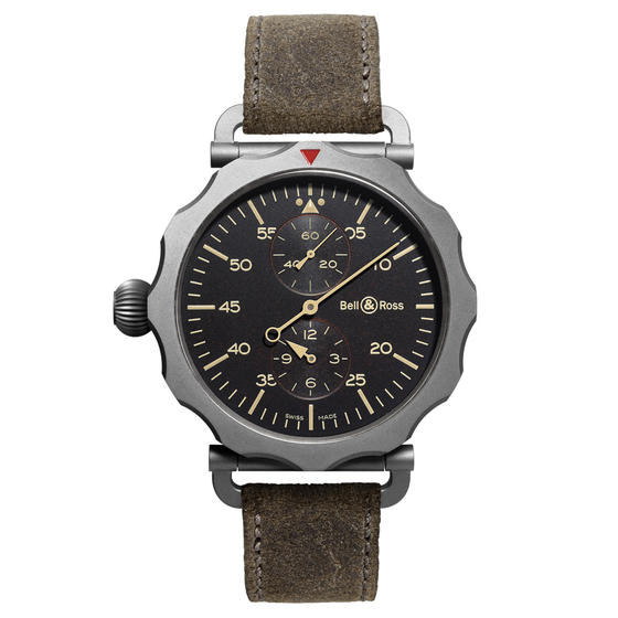 Best Replica BELL & ROSS WW2 REGULATEUR HERITAGE BRWW2-REG-HER Watch