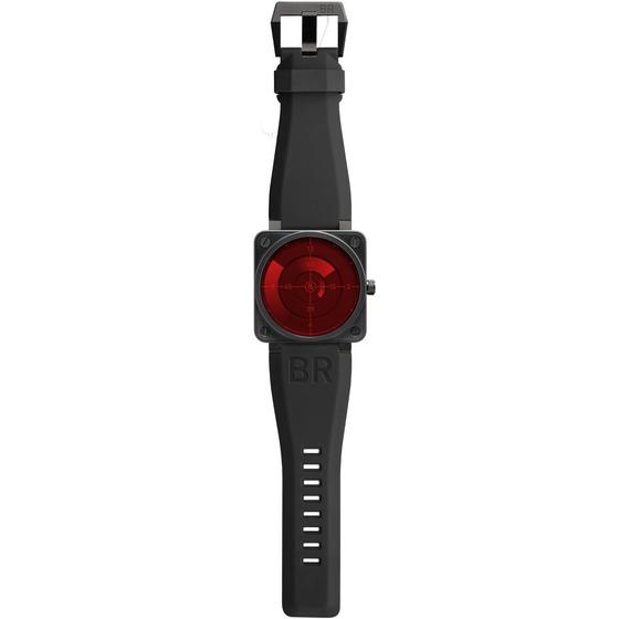 Replica BELL & ROSS INSTRUMENT BR 01 RED RADAR Watch