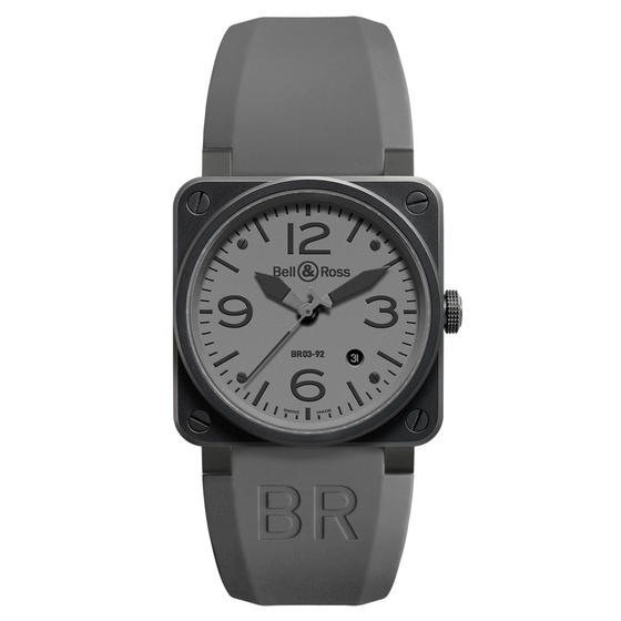 BELL & ROSS Watch Replica Black PVD BR 03-92 COMMANDO