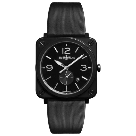 BELL & ROSS Watch Replica BR S BLACK CERAMIC BRS-BL-CES