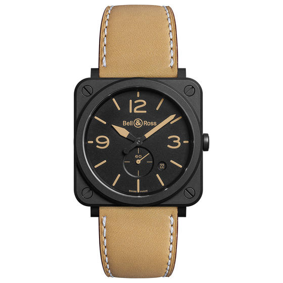 BELL & ROSS Watch replica BR S HERITAGE CERAMIC BRS-HERI-CEM